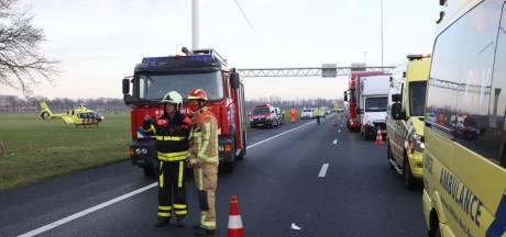 Ernstig ongeluk op A58 bij Oirschot, één rijstrook vrijgegeven