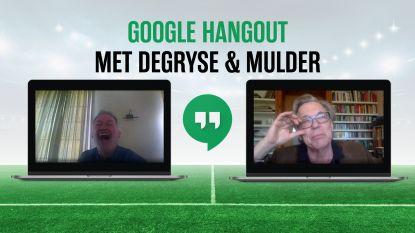 """""""Snakken tot Maggie zegt: 'Jullie kunnen weer voetballen'"""": het Google Hangout-interview met Jan Mulder en Marc Degryse"""