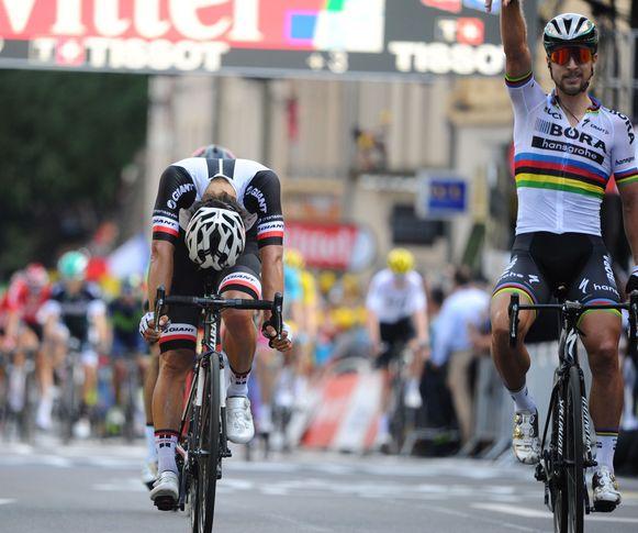 Peter Sagan toonde zich gisteren heer en meester. Wat kan de wereldkampioen vandaag?