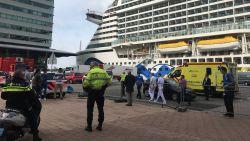 Alarm op cruiseschip in Rotterdam na ziekte-uitbraak, schip vertrok vanochtend in Zeebrugge