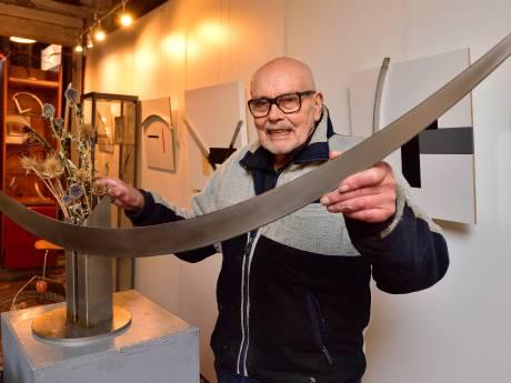 More is less: Gouwenaar Menno Meyer (89) nog lang niet bezig met afbouwen van kunstcarrière