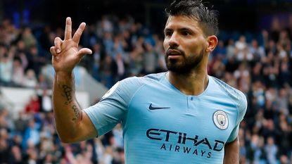 Geweldige David Silva en hattrickboy Agüero doen blessure De Bruyne al vergeten (6-1). Wie stopt dit Manchester City?
