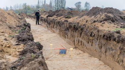 Romeinen hinderen aanleg begraafplaats