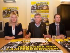 """Vlaams Belang start petitie: """"IS-terroristen horen niet thuis in onze stad, maar aan de galg in Syrië of Irak"""""""