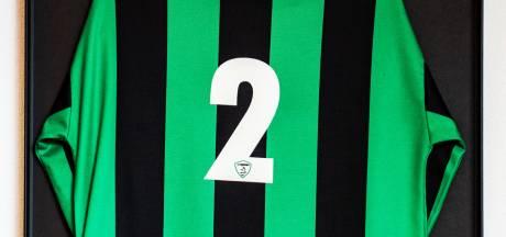 Het shirt met nummer 2 blijft voor altijd van MH17-slachtoffer Pieter