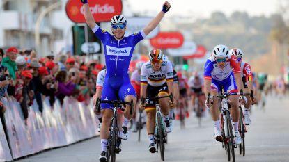 KOERS KORT (20/02). Jakobsen wint in Algarve, Stuyven valt - Aerts wint in Waregem - Froome past voor UAE Tour