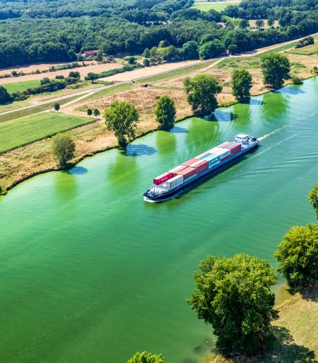 Blauwalg verdwijnt alweer uit de Maas, maar het Maas-Waalkanaal is nog groen