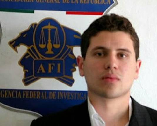 El Chapo's oudste zoon: Ivan Archivaldo Guzman.