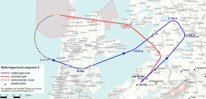 Route deel vijf