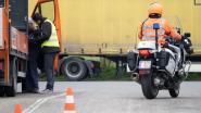 Politie verbaliseert zeven truckers tijdens controleactie op zwaar vervoer