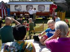 De Reizende Clownswagen van clown Arno Huibers uit Eindhoven reist niet meer