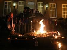 Manneke en Zwaajgatje verbrand, carnaval 2017 is weer voorbij