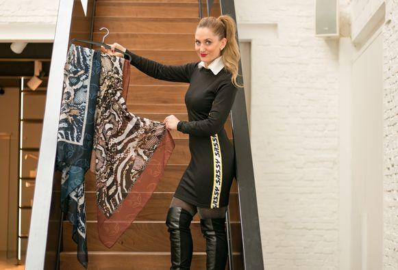 """Katerina Rogozinska van Ocean Couture: """"Voor wie met borstprotheses door het leven moet, was er nog geen mooie, comfortabele én trendy badmode."""""""