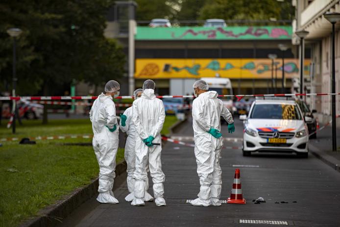 Curiel werd donderdagavond neergeschoten bij de flat Hogevecht.
