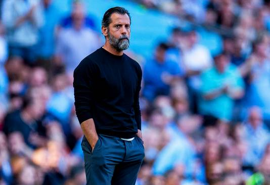 L'entraîneur de Watford, Quique Sanchez Flores, complètement dépité.