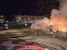 Chalets afgebrand op camping De Rietschoof in Aalst: 'Godzijdank geen gewonden'