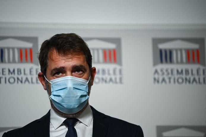Oud-minister Christophe Castaner, fractieleider van LaRem (La République en marche, de partij van Macron).