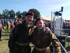 Veteranen en vrienden voor het leven: Edwin uit Baarle-Nassau en Lee uit Engeland rijden samen Market Garden