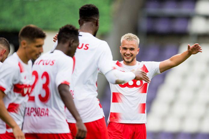 Deux assists pour Nicolas Raskin, dans tous les bons coups, dimanche, à Anvers.