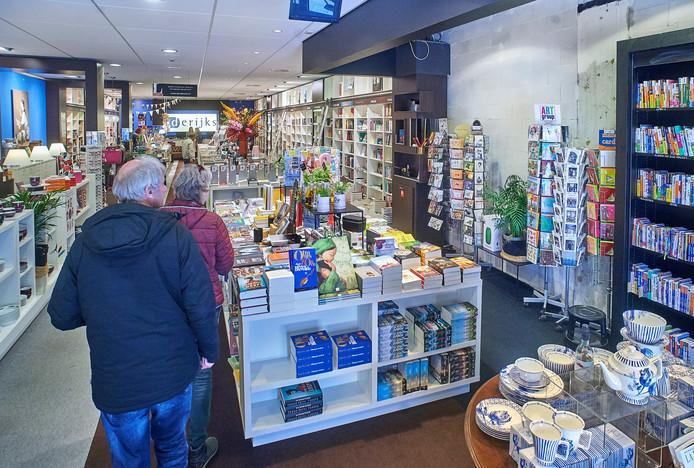 Boekhandel Derijks te Oss is verkleind, afbuigen 'naar rechts' is er niet meer bij.