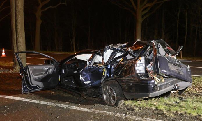 Twee zwaargewonden bij ongeluk op N65.