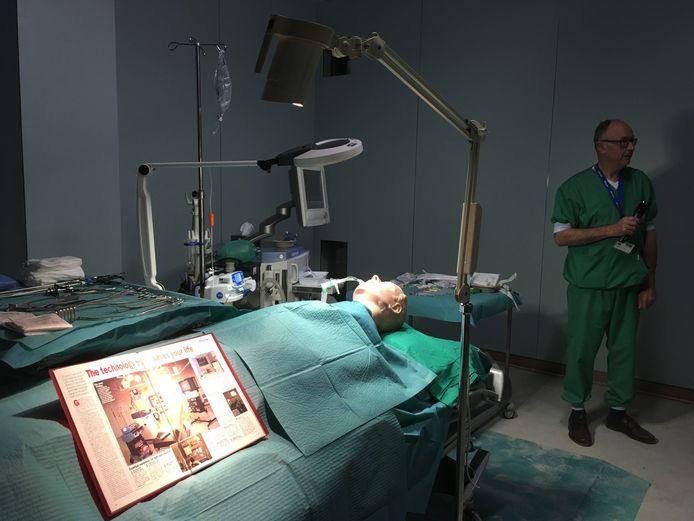 Een operatiezaal-in-wording.