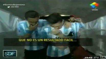Messi en Di María hebben het verkorven na dit iets te leuk onderonsje