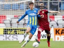 RKC gaat in eigen huis nipt onderuit tegen tien man van Vitesse