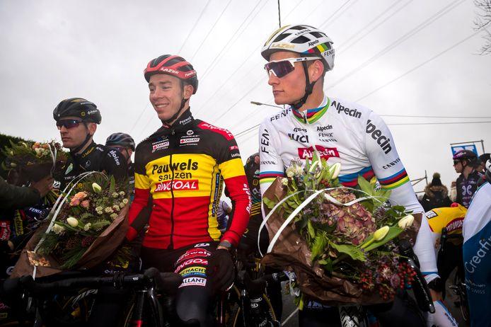 Op een kampioenenhulde voor de start van Weversmisdagcyclocross in Otegem wordt het wachten tot januari 2022.