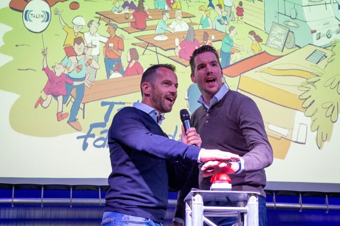 Mark van der Graaf (l) en Emiel Talen vormen de algemene directie bij Talen Vastgoedonderhoud.