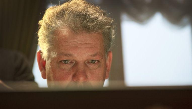 Hero Brinkman vult in Haarlem het Kieskompas in. Beeld anp