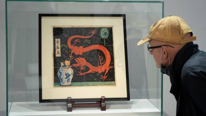 Kuifje-tekening geveild voor recordbedrag van ruim 3 miljoen euro
