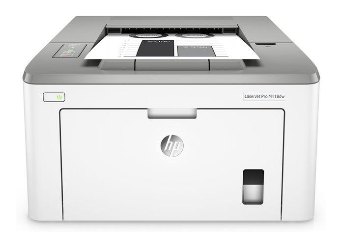 HP LaserJet Pro M118dw.