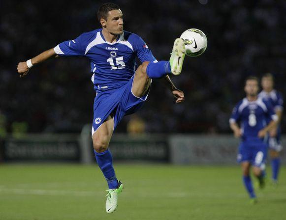 De Bosnische voetballer Sejad Salihovic op een archieffoto.