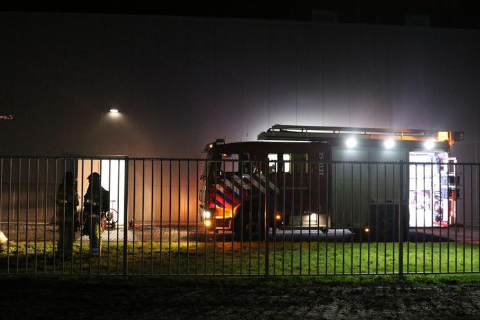 Er kwam vooral veel rook vrij bij de brand in het bedrijfsgebouw van Bedrocan.