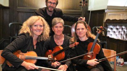 Luce Strijkkwartet viert tiende verjaardag (en geeft voor het eerst een eigen concert)