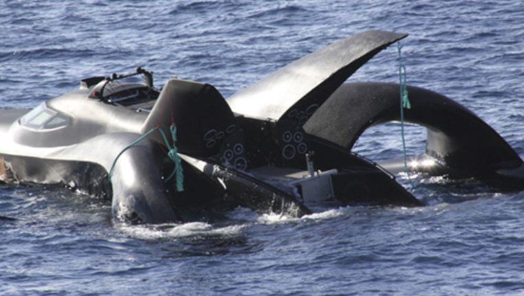 De Antiwalvisvaartgroep Sea Shepherd. Foto AP Beeld