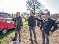 Wens landgoed Hackfort en brouwer De Biertafel komt uit: een biertje met eigen geteelde gerst