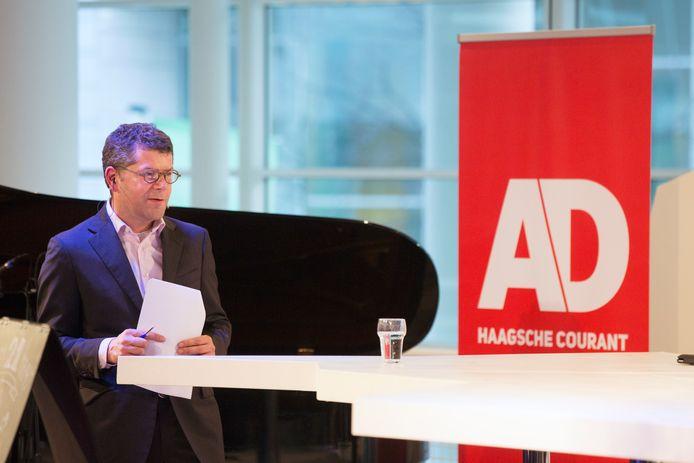 Axel Veldhuijzen, chef AD Haagsche Courant.