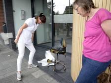 Medewerker blust brandje bij de tandarts