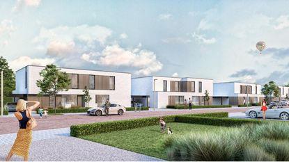 Zo zal 'nieuw dorp' met huizen en park eruitzien