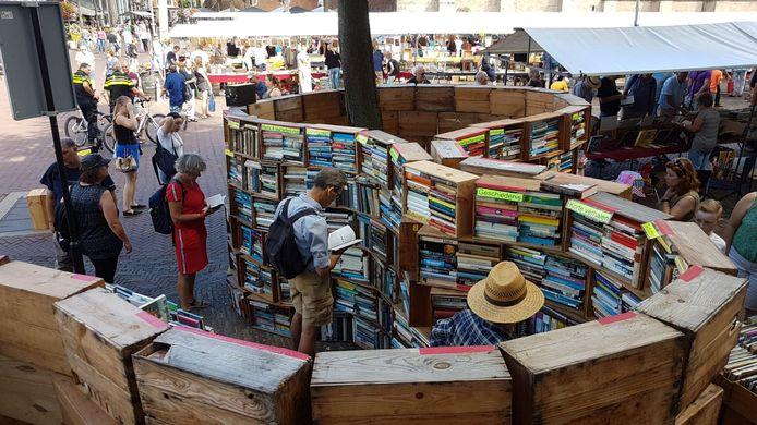 Deventer Boekenmarkt.