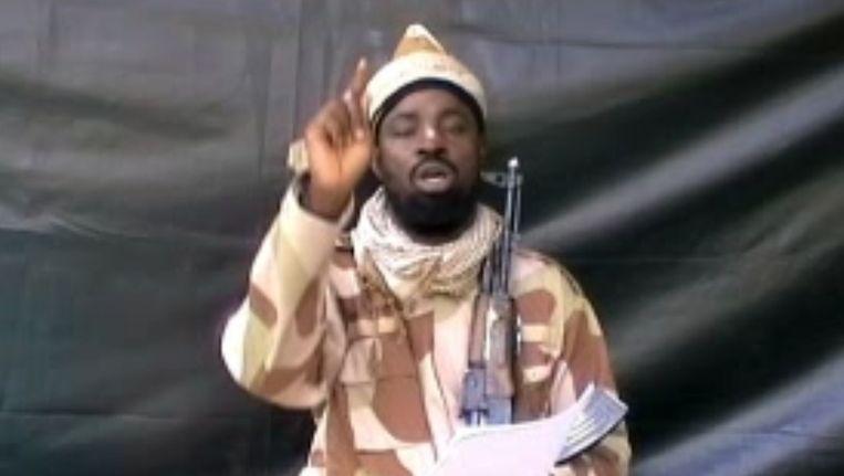 Abubakar Shekau Beeld afp