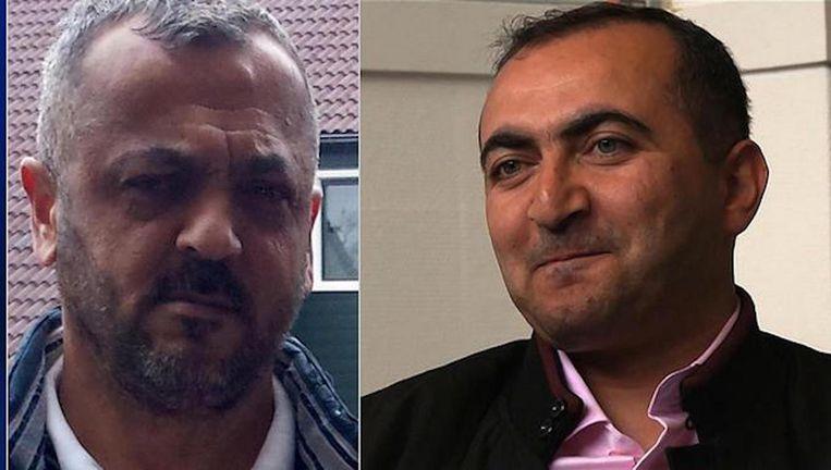 Zeynel Er (l) Haydar Zengin (r). Beeld -