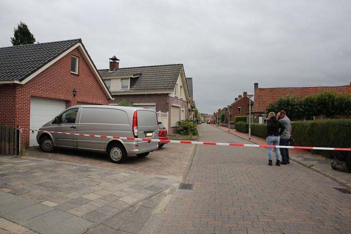 De woning aan de Binnenweg in Hoogerheide.