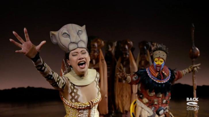 Gaia neemt afscheid van haar rol als Nala in The Lion King