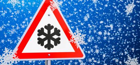 Sneeuw in Twente: kans op gladheid