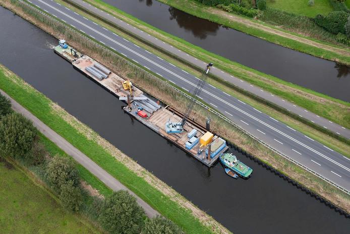 De aannemer voerde al eerder werkzaamheden uit bij Den Dungen.