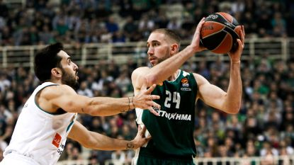 Lojeski loodst Panathinaikos naar zege in openingsduel EuroLeague basket