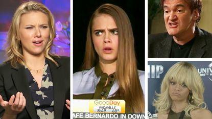 Net als Taylor Swift: deze sterren snoeren reporters genadeloos de mond